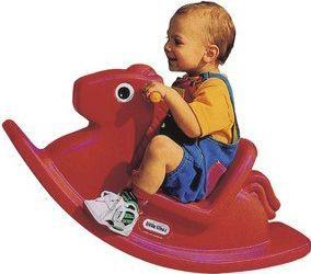 Little Tikes - Rocking Horse - Red | Playdex Toys
