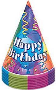 Cappelli buon compleanno. https://www.amazon.it/gp/product/B00T3GO2CO/ref=as_li_tf_tl?ie=UTF8&camp=3370&creative=23322&creativeASIN=B00J5KVQWW&linkCode=as2&tag=valenx-21