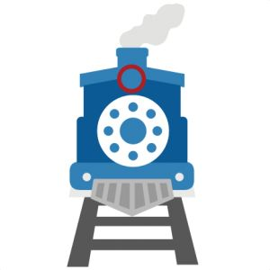 Train SVG cutting file for scrapbooking commuter train svg file train svg cut file train svg cut file
