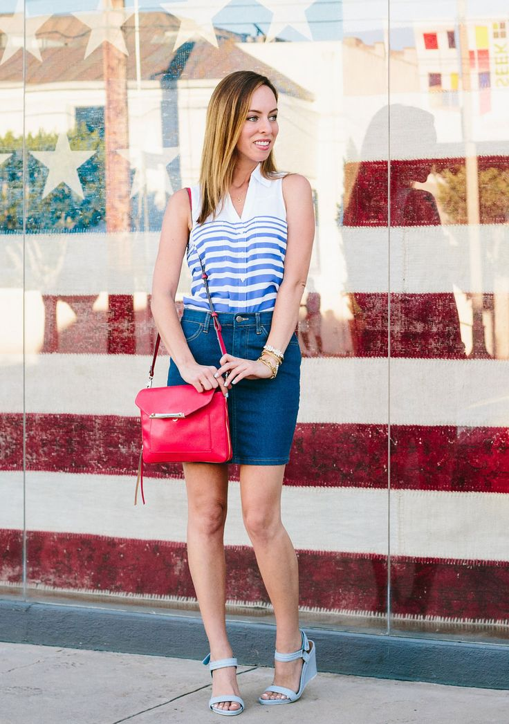 What to Wear For July 4th, fourth of july fashion, july 4th, red white and blue