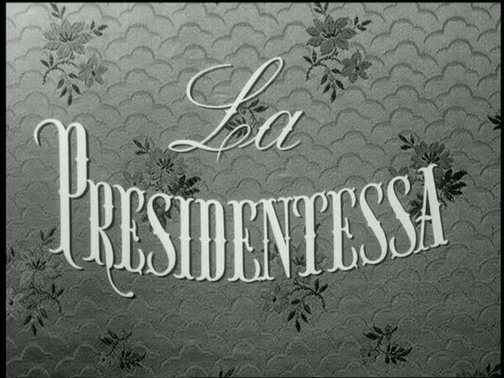 La presidentessa (1952)