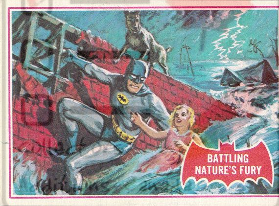 1966 ~ National Periodical Publications ~ Batman Collectible Cards