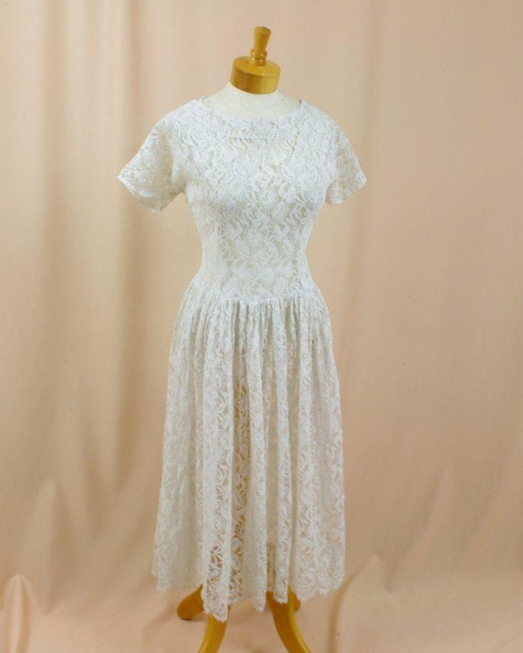 1940s Wedding Dress White Wedding Dress 40s Wedding Dress | Etsy
