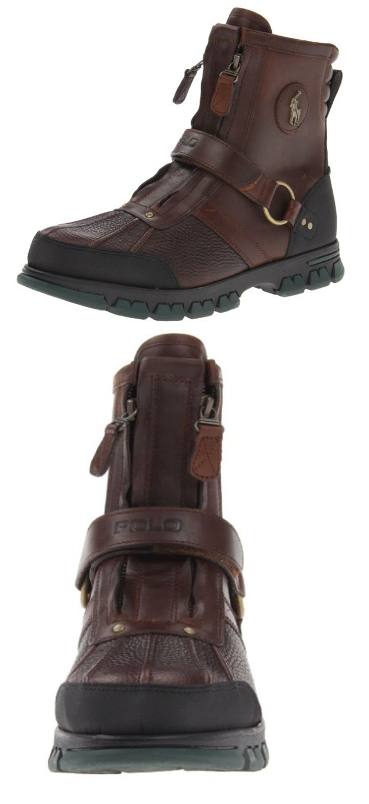 Polo Ralph Lauren Men's Conquest Hi III-C Boot  Nothing wrong with polo boots, just can't stand this style the zippers are ridiculous