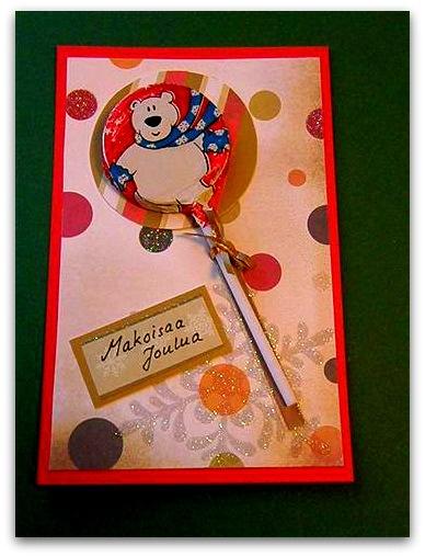 Tikkari-joulukortteja   Juhlamielellä