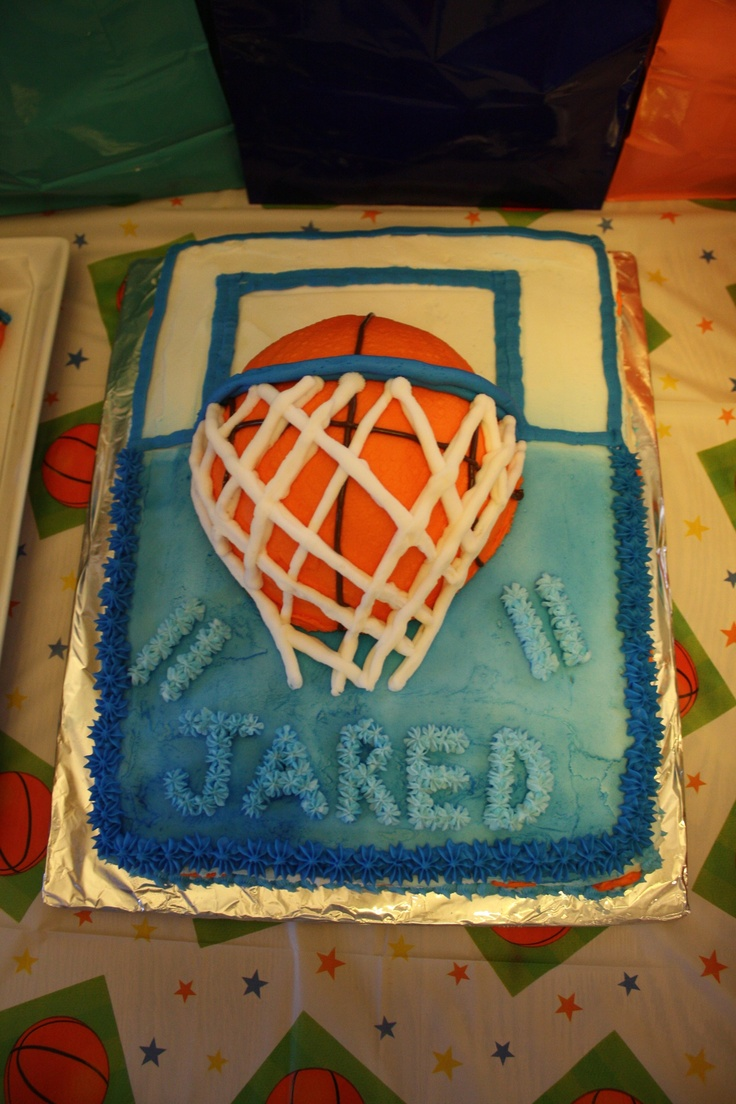53 Best Basketball Cake Images On Pinterest Basketball