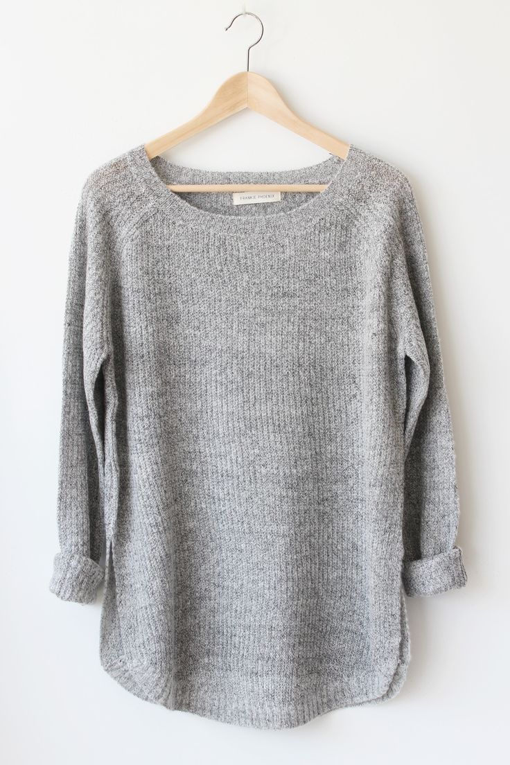 "- Details - Size - Shipping - • 55% Cotton 45% Acrylic • Marled oversized knit sweater. • Hand Wash • Line dry • Imported • Measured from small • Length 28.5"" • Chest 22.5"" • Waist 20.5"" • Sleeve Leng"