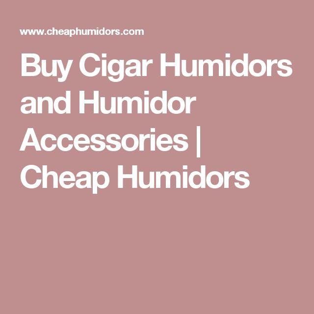 Buy Cigar Humidors and Humidor Accessories | Cheap Humidors