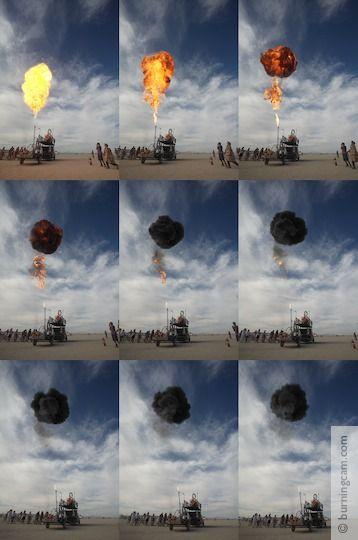 Burning Man 2006 - Fireball © 1998-2007 NK Guy