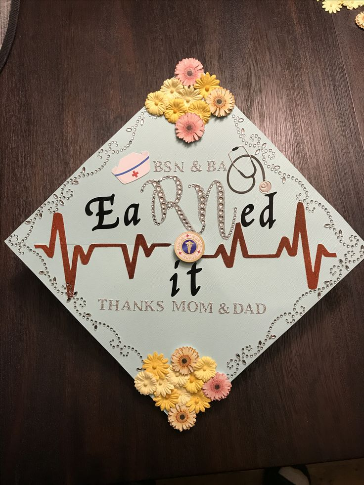 Nursing graduation cap for my daughter.