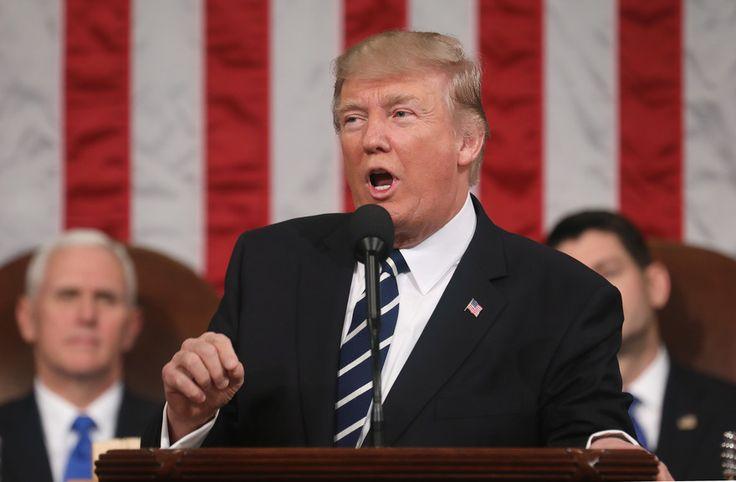 Discours de Trump devant le Congrès (immigration, mur, terrorisme) : 78% des Américains convaincus [traduction simultanée]