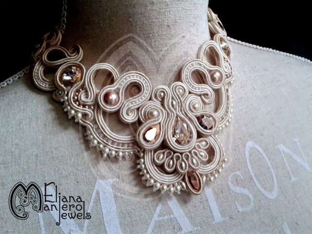 Le stelle di Eli: Adagio Soutache Necklace