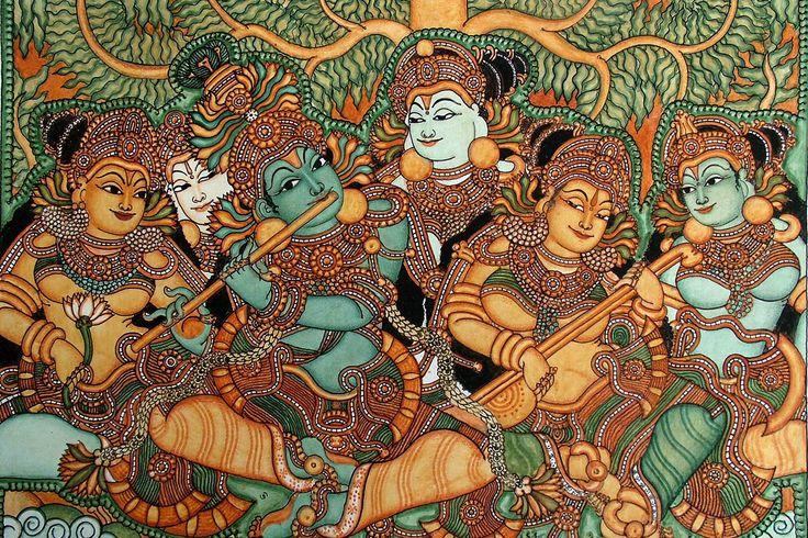kerala mural paintings - Google Search