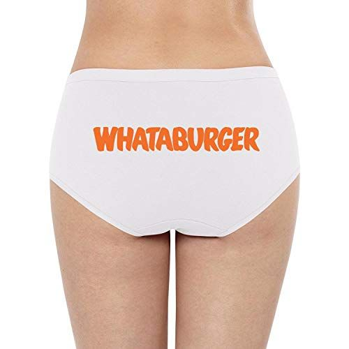 af220cb45f8c YJRTISF Popular Music Women Stretchy Soft Whataburger-Logo- Cotton Lingerie  Panties,#Women