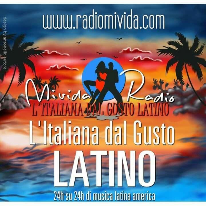 Ogni giorno la musica latina più bella Todos los días la música latina más bella  Ascoltala su / Escuchar www.radiomivida.com  #radio #webradio #latino #salsa #merengue #bachata #reggaeton #caraibico #passionporlamusica #radiomivida #mivida