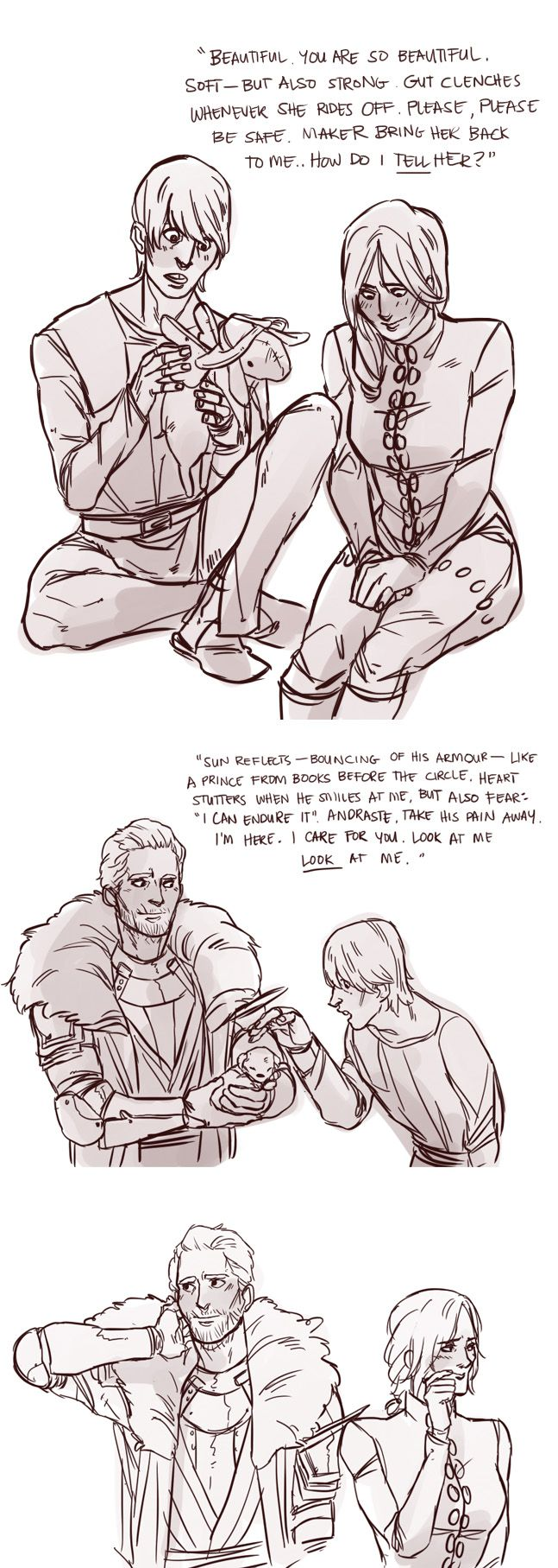 Things this comic taught me: You can trick Cole by giving him cute things. Also, the awkward of this romance is pretty much how I do in real life.
