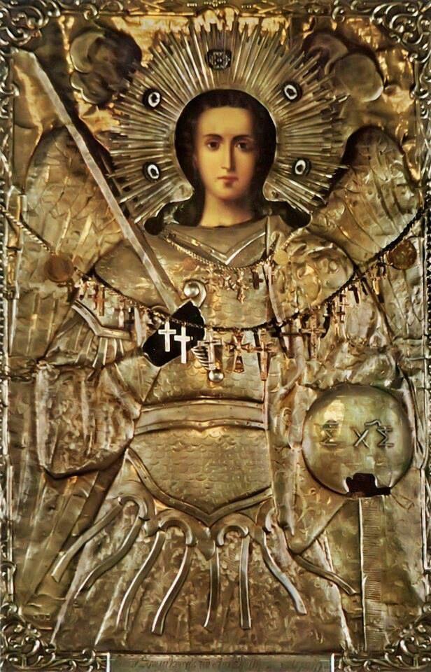 Πνευματικοί Λόγοι: Η Θαυματουργή εικόνα του Αρχαγγέλου Μιχαήλ στη Θάσ...