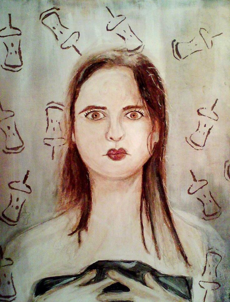 Amelie Nothomb by ~mikaelgravelle on deviantART
