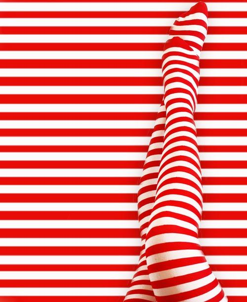 red stripes bring an instant smile
