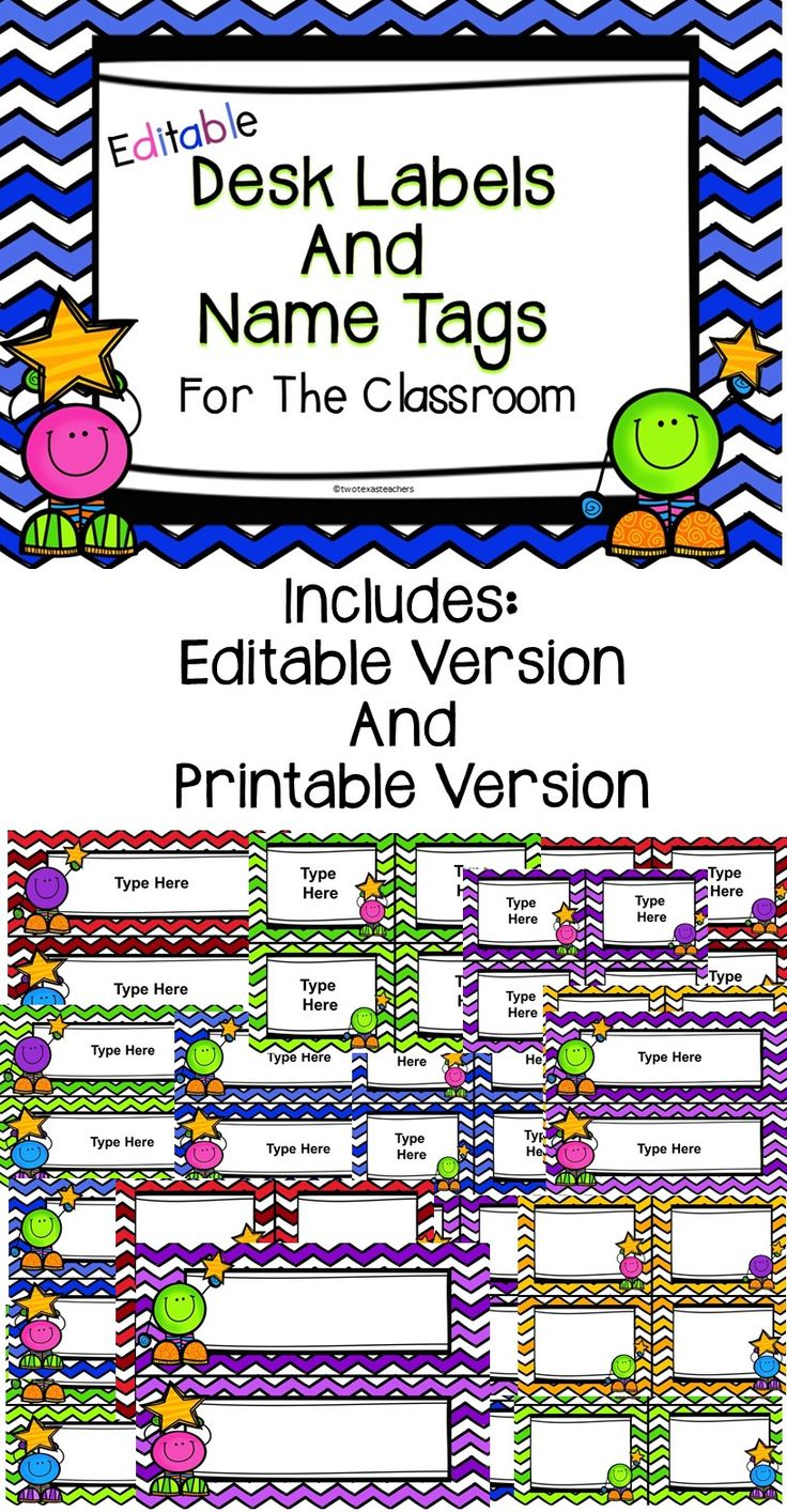 It is an image of Genius Free Printable Classroom Name Tags