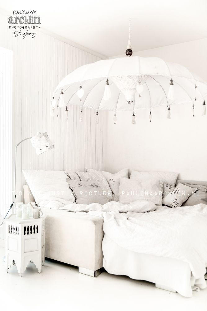 Use an old umbrella as a new light! #DIY