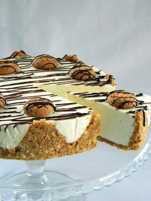 Bucataria casei noastre: Cheesecake cu migdale si amaretti