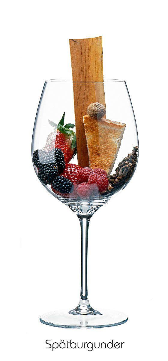 PINOT NOIR  Raspberry, blackberry, strawberry, nutmeg, toast, cedar, clove