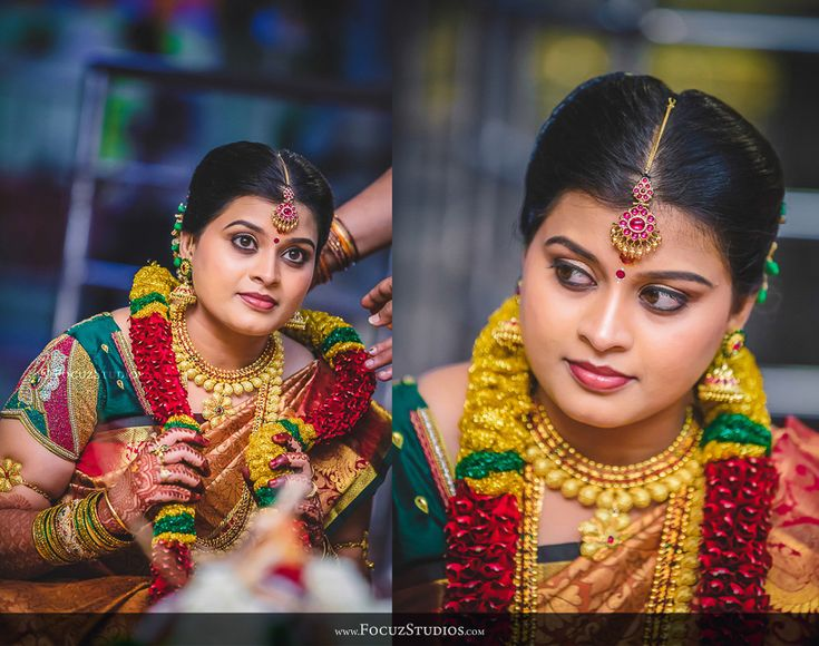 Tamilnadu Bridal Hairstyle : Simple bridal makeup tamil nadu style mugeek vidalondon