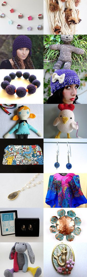 Chile's Got Talent by Valentina Olivares on Etsy--Pinned with TreasuryPin.com