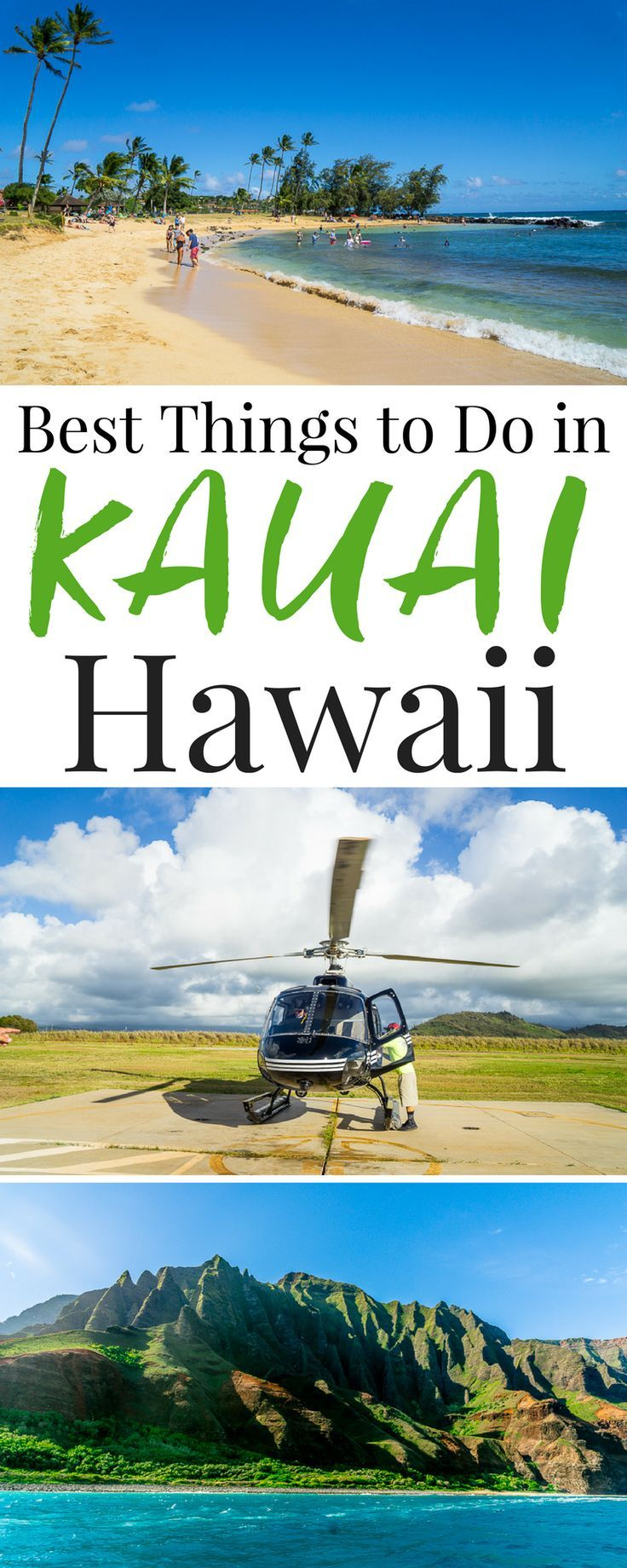 Planning a trip to Kauai, Hawaii and looking for fun and exciting ways to explore and experience everything the island has to offer? Check out this list of the Best Things To Do In Kauai for great ideas and recommendations from scenic hikes to luaus!
