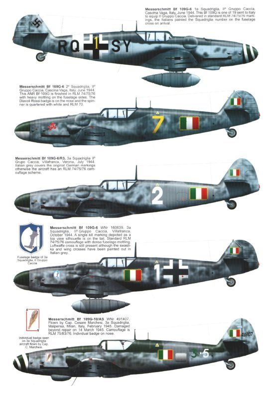 Bf-109 colors
