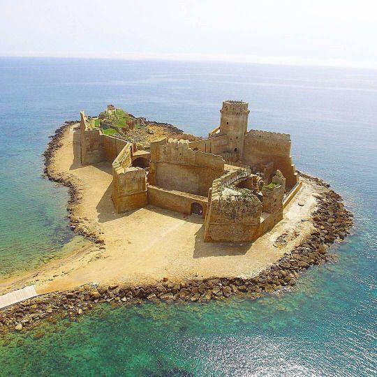 Le Castella, Capo Rizzuto, Calabria Paesaggi, Laghi