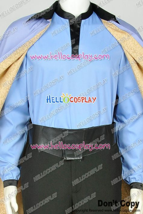 Star Wars VII 7 Lando Calrissian Uniform Cosplay Costume [WS160--1096] - £114.11 : Cosplay UK Store   Hello Cosplay