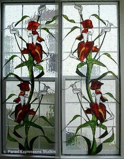 Stained+Glass+Window+Panels | Custom stained glass windows, etched glass and art glass panels