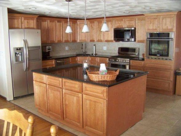 Split level kitchen remodel on a budget pinteres for Kitchen designs for split level homes