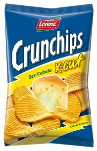 Grubo falujący X-cut Ser-Cebula na srogim ziemniaku, boskie połączenie! #Crunchips #XCut #chips #cheese #onion