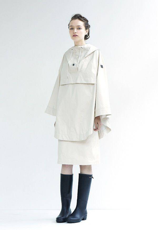 【SPUR】エーグル×アダム エ ロペ 女性のためのレインウェアがデビュー | NEWS