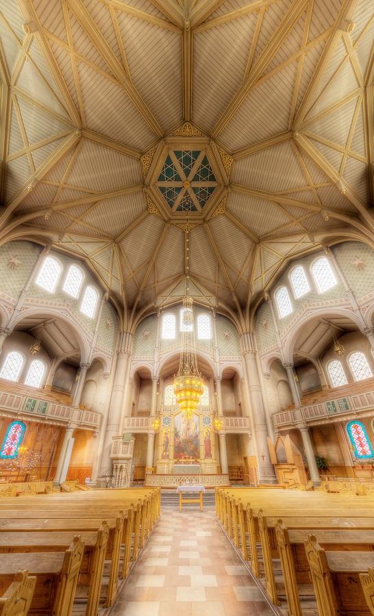 St Pauli Church Interior