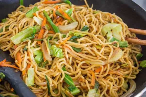 Yakisoba Recipe Sauces Sweet And Ramen