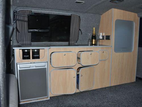 Volkswagen VW Transporter T5 Camper Van Interior Units / Cupboards | eBay