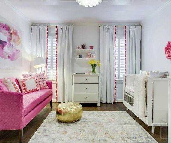 Die besten 25+ Korallen Vorhänge Ideen auf Pinterest - schlafzimmer ideen pink