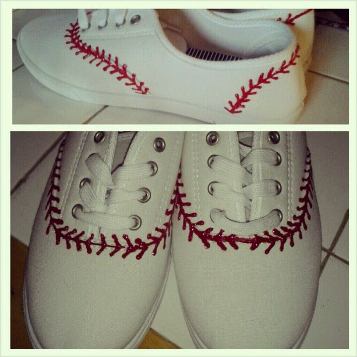 baseball shoes by madison :)