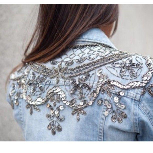 Denim Jacket with Lovely details