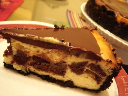 Brownie Mosaic Cheesecake