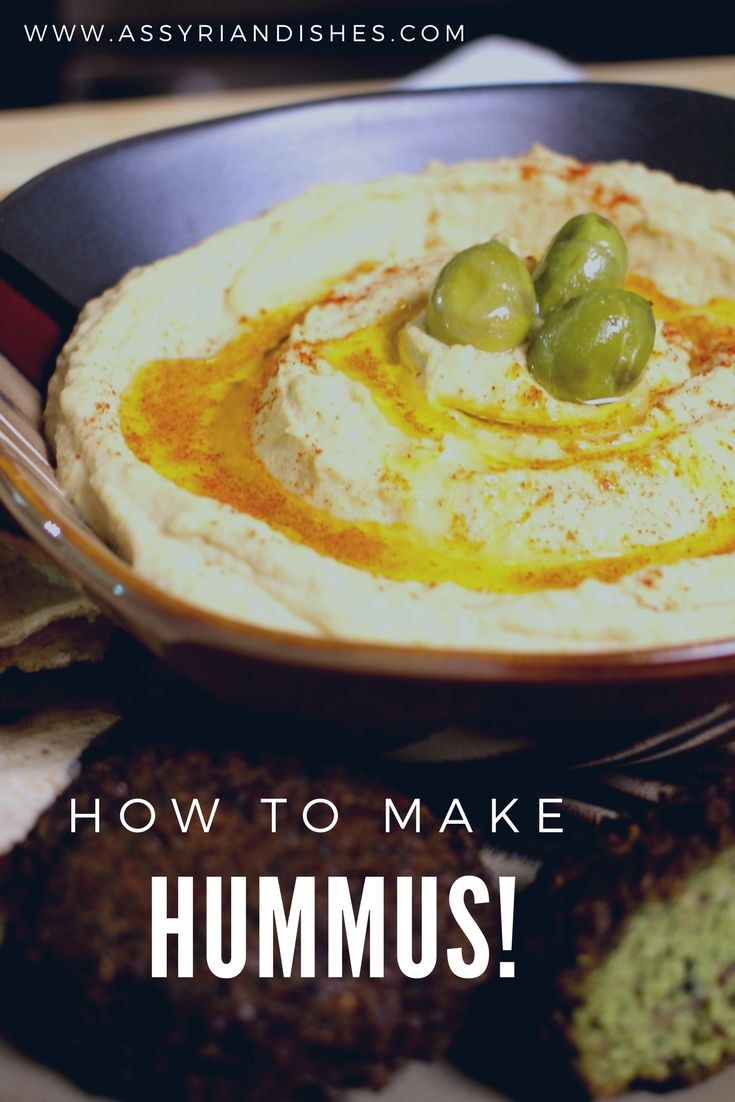 Learn How to make Hummus with Assyrian Dishes!