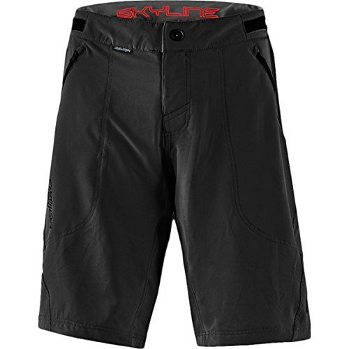 Troy Lee Designs Skyline Shell Men's BMX Bicycle Shorts - Black / 34