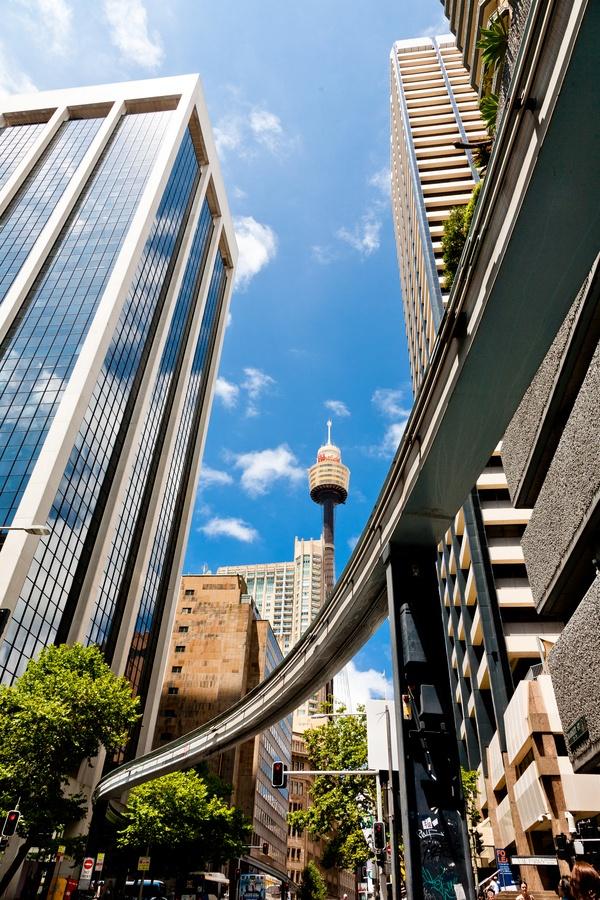 Monorail Sidney by Bob Verwiel, via 500px