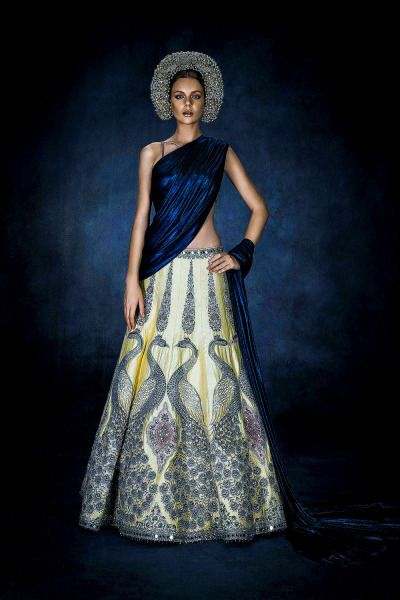 """confessionsofabollywoodgirl: """" Swarovski showcases 'Sparkling Couture' from South East Asia Click for HQ details """""""