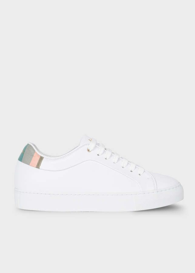 Paul Smith Women's White Leather 'Basso