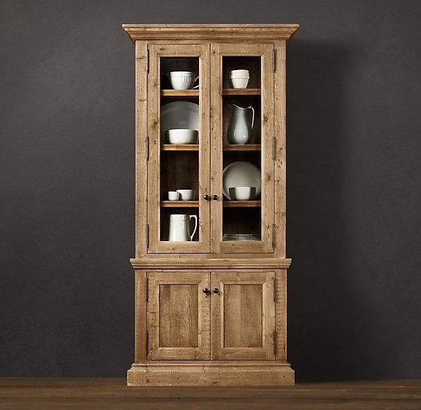 Delightful Salvaged Wood Narrow Sideboard U0026 Hutch // Restoration Hardware. Narrow  SideboardDish CabinetDining Room ...